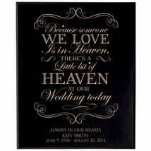Anniversary Plaque Established Wedding Engraved Family Gift - $79.19+