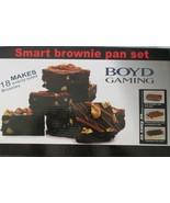 Smart Brownie Pan Set Makes 18 NEW - $24.74