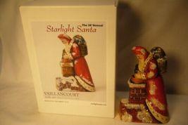 Vaillancourt Folk Art 26TH Annual Starlight Santa 2015 Signed by Judi! image 4