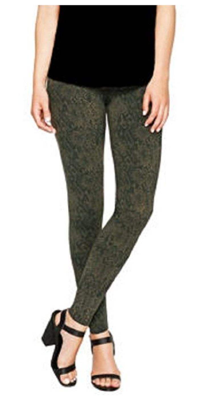Matty M Ladies' Legging, Thicker Material, Wide Waist Band image 9