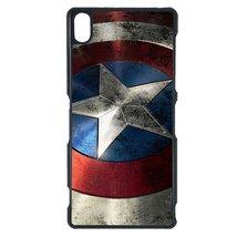 Avengers, Captain America Sony Z case Customized Premium plastic phone c... - $12.86