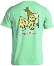 Puppie Love Rescue Dog Men Women Short Sleeve Graphic T-Shirt, Pineapple Pup image 1