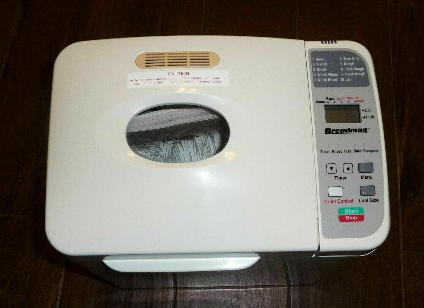 Primary image for Choose Bread Machine Part from List for Breadman Model TR800
