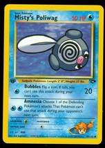 Pokemon Card - 1st Edition Misty's Poliwag - (89/132) Gym Challenge Set ***NM*** - $1.99