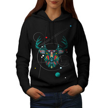 Stylish Deer Beast Animal Sweatshirt Hoody Deer Horn Women Hoodie - $21.99+