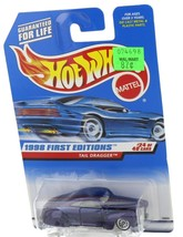 1998 Hot Wheels First Editions Purple Tail Dragger Custom 1941 Ford Hot Rod