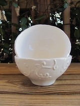 Footed Bowls~Vine Design~Ceramic~Made in Portugal~Pair - $9.74