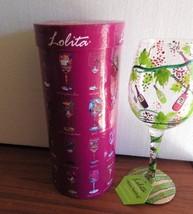 "Lolita ""Wine Tasting"" Glass Recipe and Original Packaging Tag - $23.76"