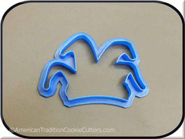 """4.5"""" Jester Hat 3D Printed Cookie Cutter - $3.00"""