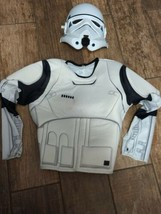 Star Trooper Costume - Top And Mask.  Kids size small - £5.35 GBP
