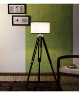 Vintage Floor Standing Tripod Floor Lamp Home Decor By NauticalMart - $250.00