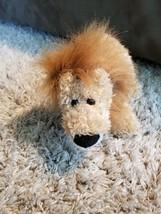CUTE HEADS & TAILS GUND LION BROWN CUDDLY SUPER SOFT PLUSH STUFFED ANIMA... - $14.50