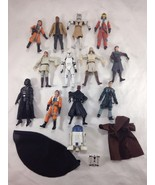 LOT of 13 Star Wars 2008 - 2009 Loose Action Figures & Clothing - $98.99
