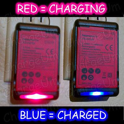 LG Optimus Net P699 Battery Charger Dock External Home Travel Enlighten VS700