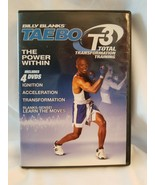 Billy Blanks Taebo T3 Total Transformation Training -The Power Within DVDs - $5.89