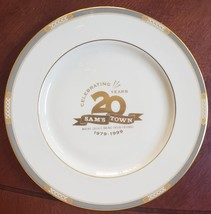 Sam's Town 20 Years Las Vegas VIP Party June 4 1999 Ltd Edition Collector Plate - $17.95