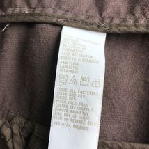 Tommy Hilfiger Corduroy Blazer Jacket Women's S Brown Stretch Button Long Sleeve image 11