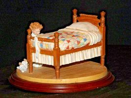 1993 Days to Remember - Norman Rockwell Figurine A Child's Prayer AA19-1612  Vin image 5