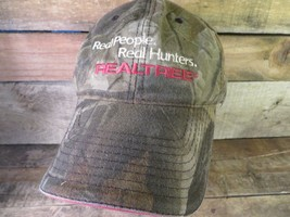 Real People Real Hunters Realtree Camouflage Camo Adjustable Hat Adult Cap - $11.57