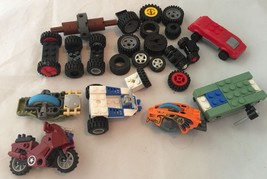 Lego Cycles cars a lot of tires Mixed lot 23 pieces  o - $14.03