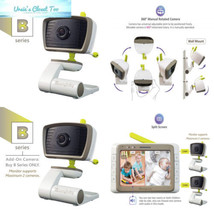 "MoonyBaby""B"" Series Add-On Camera Unit for Wide Angle Video Baby Monitor... - $69.74"
