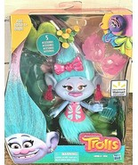 "Hasbro Dreamworks Chenille Seda 6"" Troll Doll with 5 Accessories - $17.82"