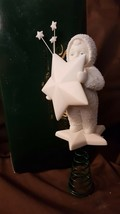 Dept 56 Snowbabies 1997 TREETOPPER I'M THE STAR ATOP YOUR TREE! #68862 - $19.95