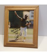 Dave Stewart autographed photo with wooden frame - $10.00