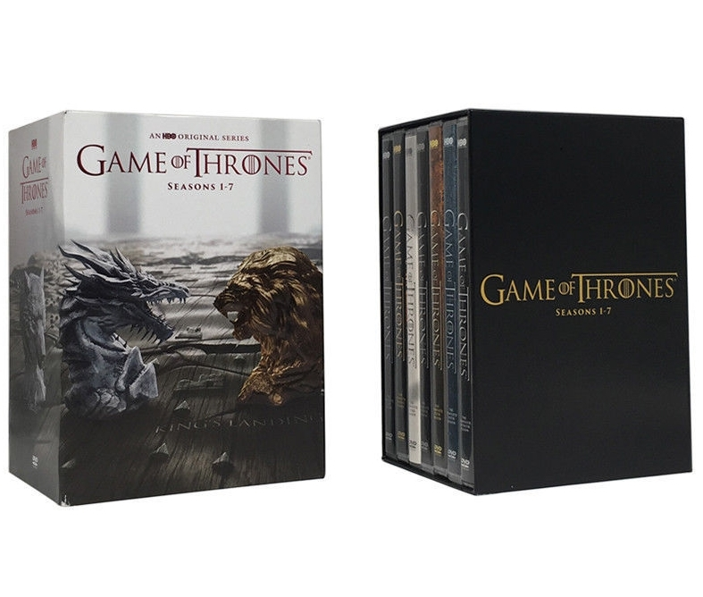 Game of thrones the complete seasons 1 7  dvd  2017