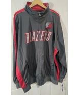 """Portland Trail Blazers Majestic Zip-up Jacket Size 4X """"NWT""""  - $29.69"""