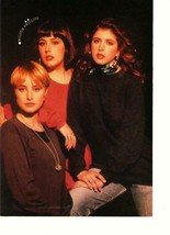 Wilson Phillips Fred Savage teen magazine pinup clipping 90s Superteen T... - $1.50