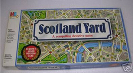 Scotland Yard Board Game - A Compelling Detective Game Vtg 80s - SEALED - $197.99