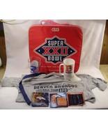 Denver Broncos Fan Kit Superbowl 22 cushion t shirt mug beer glass boot ... - $35.63