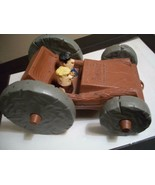 1976 FLINTSTONES FLIP CAR COMPLETE AND PERFECT TOY~FRED, BARNEY,PEBBLES,... - $34.65
