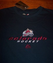 Colorado Avalanche Embroidered Nhl Hockey T-Shirt Xl New w/ Tag - $19.80
