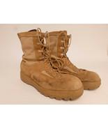 Vibram Mens Size 11.5R Military Tan Vibram Boots Flight &Combat Army Hot Weather - $39.95