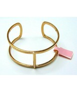 Women's Fashion Hand Made Open Cuff Rose Gold Plated Bangle - $14.75