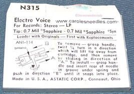 PHONOGRAPH NEEDLE 359-SS77 for MAGNAVOX MICROMATIC EVG 132 163 EVG 2619 image 2