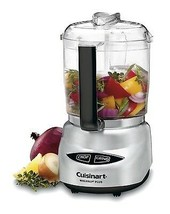 Mini Food Processor 4 Cup Capacity Recipes Included with Touch Pad Contr... - $57.49