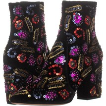 Loeffler Randall Isla Pointed Toe Ankle Boots 049, Black Multi, 8.5 US - €237,95 EUR