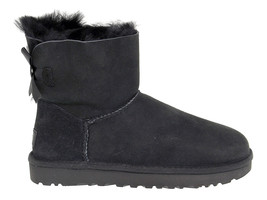 Ankle boot UGG AUSTRALIA 6501 N in black suede leather - Women's Shoes - €185,10 EUR