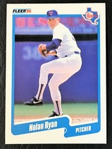 2 Card Lot - 1990 FLEER #313 NOLAN RYAN - MINT - TEXAS RANGERS - $1.39