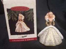 Vintage Hallmark Keepsake Collector's Series 1994 Holiday Barbie Doll Or... - $13.50