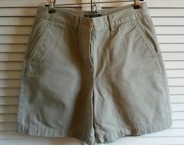 Women's Lauren Ralph Lauren Cotton Dress Shorts 100% Cotton Size 4P - Ta... - $12.85