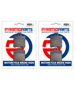 Front & Rear Brake Pads (2 Pairs) for Piaggio Vespa 50 Typhoon Catalyzed... - $30.83