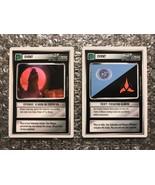 1994 Star Trek The Next Generation TCG CCG Lot: Events x2: Federation/Kl... - $3.92