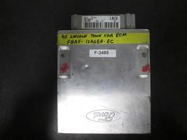 1990 90 Lincoln Town Car Engine Control Module Ecm Ecu #F0AF-12A650-EC (F-3485) - $198.00