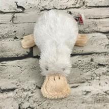 Webkinz Ganz Duck Platypus Plush White Stuffed Animal Soft Toy Bird - $9.89