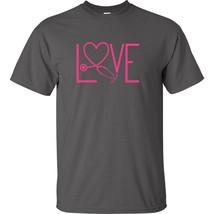 Nurse Love T Shirt Stethoscope Anatomy Caregiver Nursing Scrubs Saving L... - $8.09+