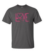 Nurse Love T Shirt Stethoscope Anatomy Caregiver Nursing Scrubs Saving L... - $12.59+